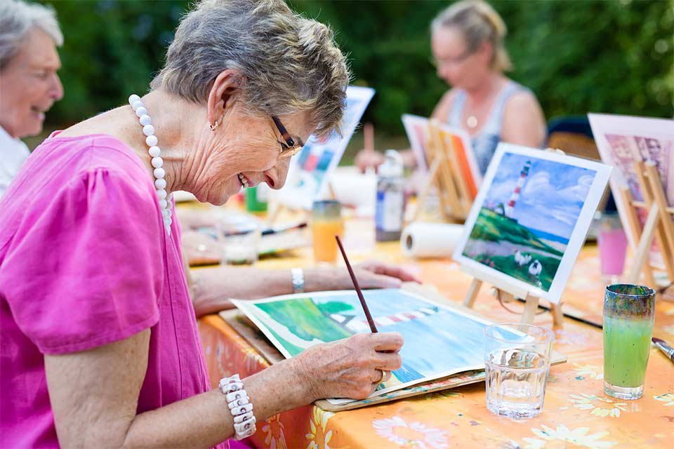 Assisted living facilities offer a wide range of activities for residents.