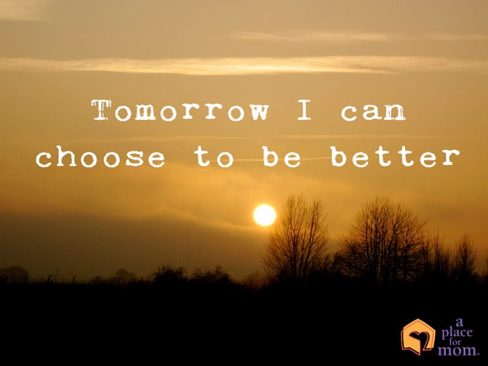 Be Better Tomorrow Quote