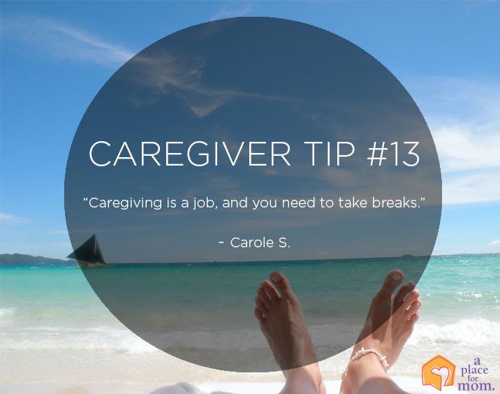Caregiver Tip #13