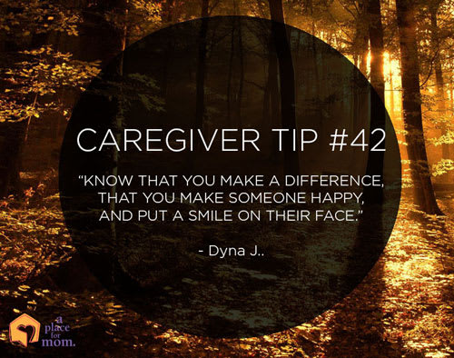 Caregiver Tip #42: Make A Difference