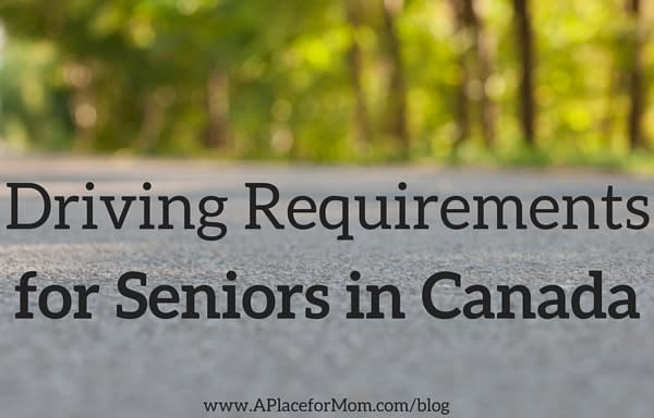 Driving Requirements for Seniors in Canada