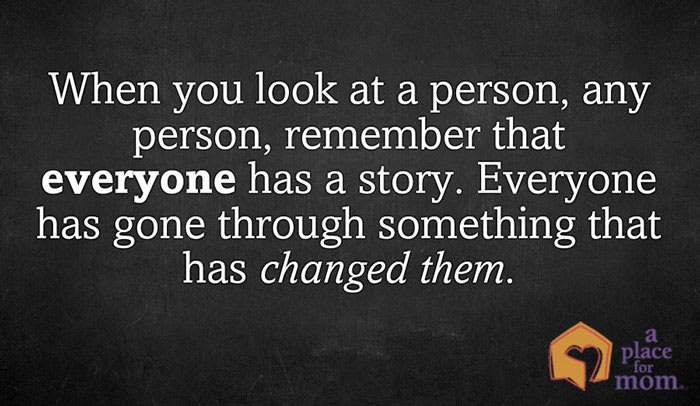 Everyone has Gone Through Something Quote