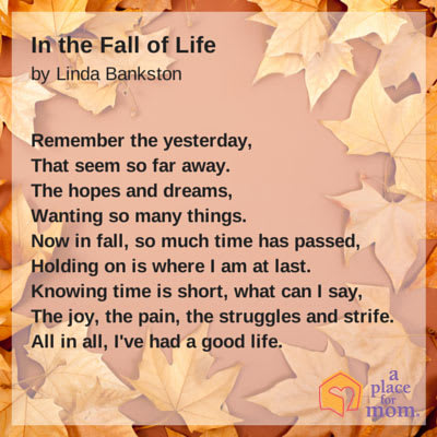 Poem In The Fall Of Life