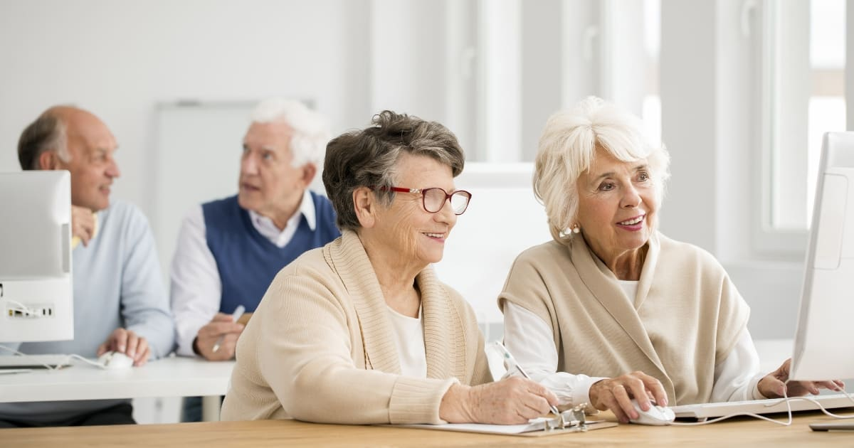 How to Nudge a Senior Loved One to Use Technology