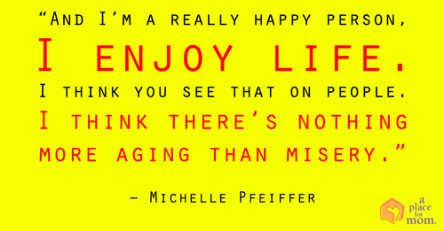 Quote: Misery Is Aging