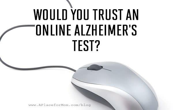 Online Alzheimer's Test