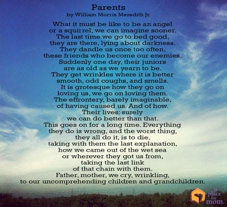 Poem: Parents