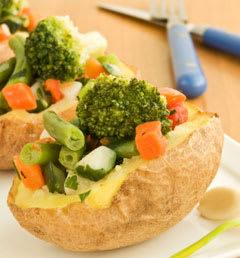 Nutritious Senior Recipe: Perfect Baked Potato