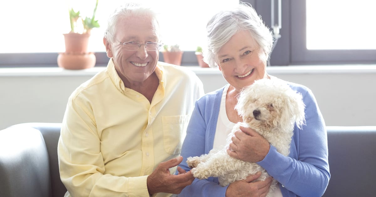Pets in Senior Living