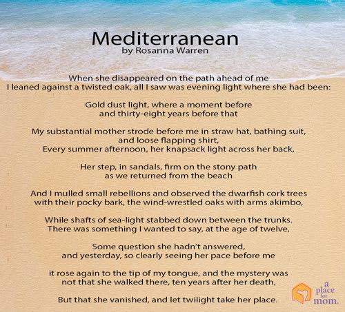Poem: Mediterranean