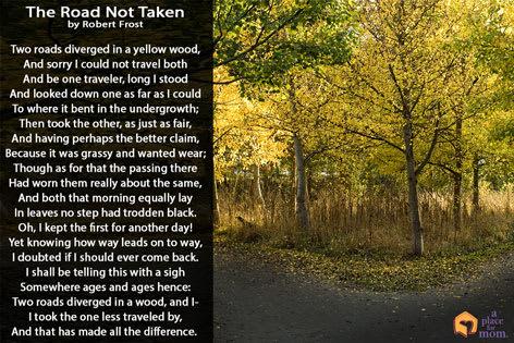 Poem: The Road Not Taken
