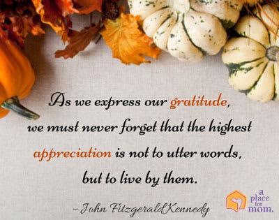 Quote Gratitude and Appreciation