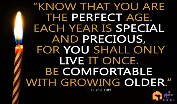 Quote: The Perfect Age
