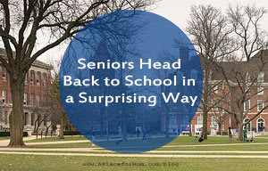 Seniors Head Back to School in a Surprising Way