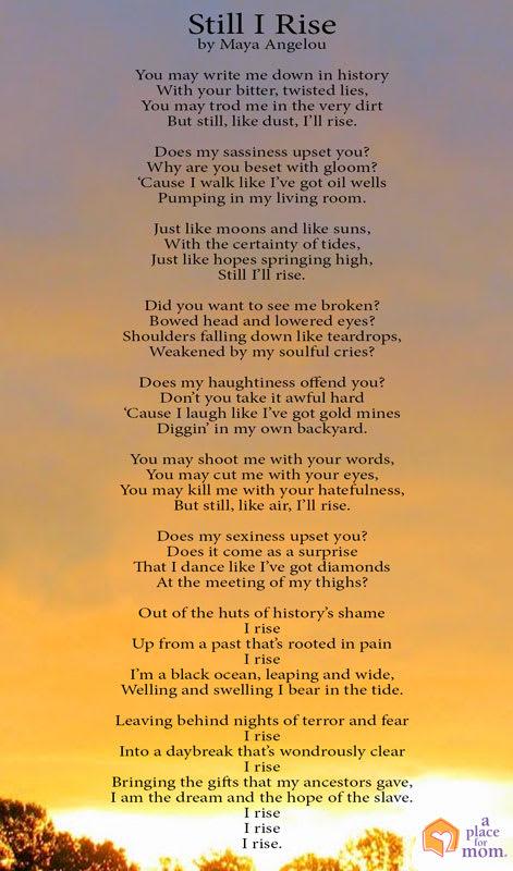 Poem: Still I Rise