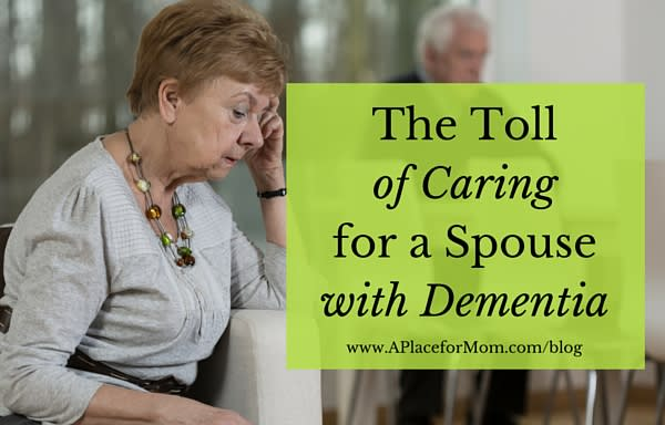 The Toll of Caring for a Spouse with Dementia