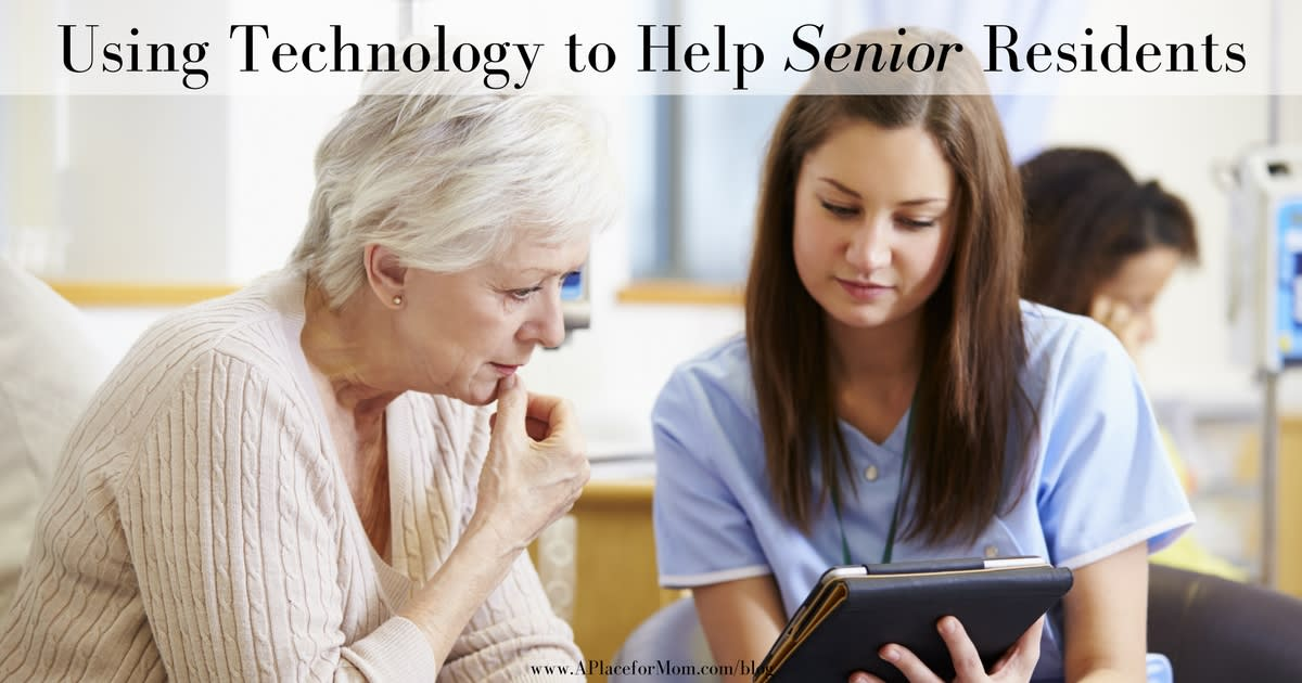 Using Technology to Help Senior Residents