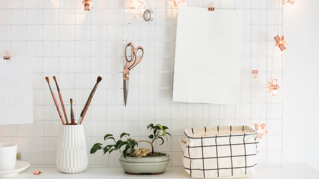 a well organized space thanks to tips on home organization