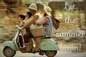 School's Out, So Let Summer Begin!