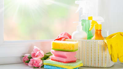 Spring Cleaning List for homeowners