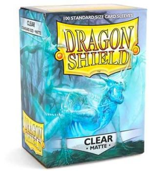 Dragon Shield Standard Card Clear Matte
