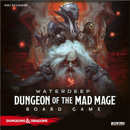 Dungeon of the Mad Mage Board Game