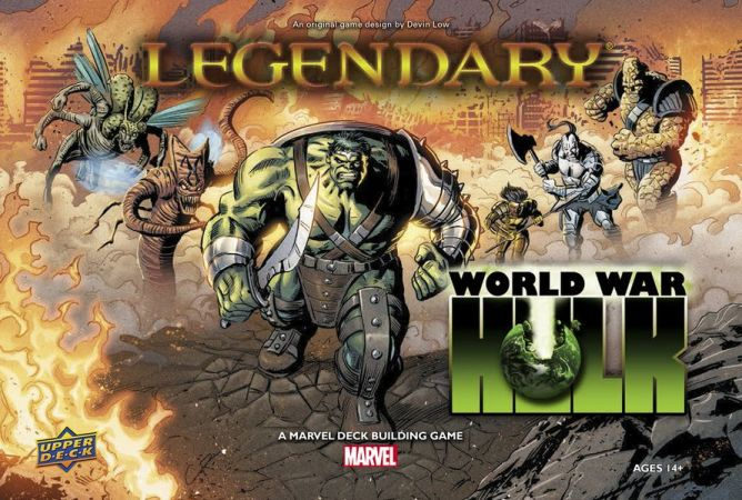 Marvel Legendary: World war Hulk