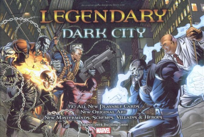 Marvel Legendary: Dark City reprint