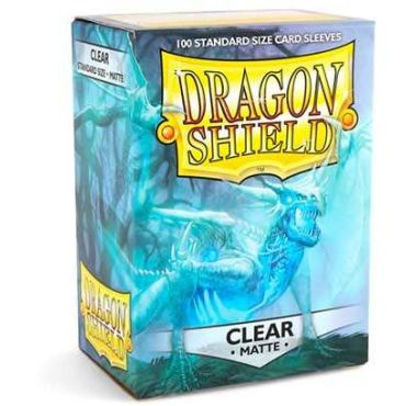 Dragon Shield Standard Card Clear Matte