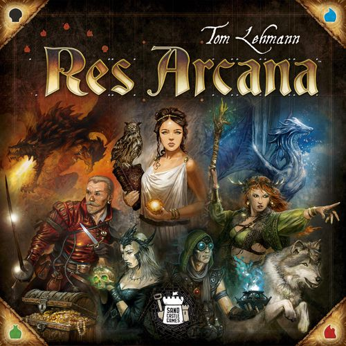 Res Arcana, new game by Tom Lehman
