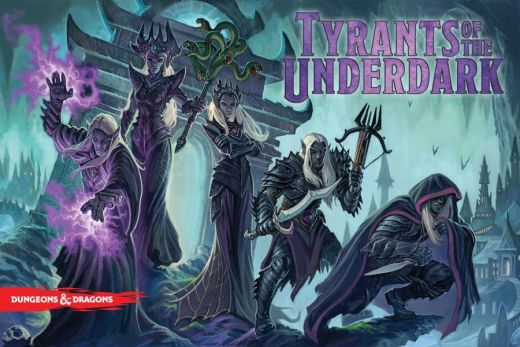 Tyrants of the Underdark Reprint