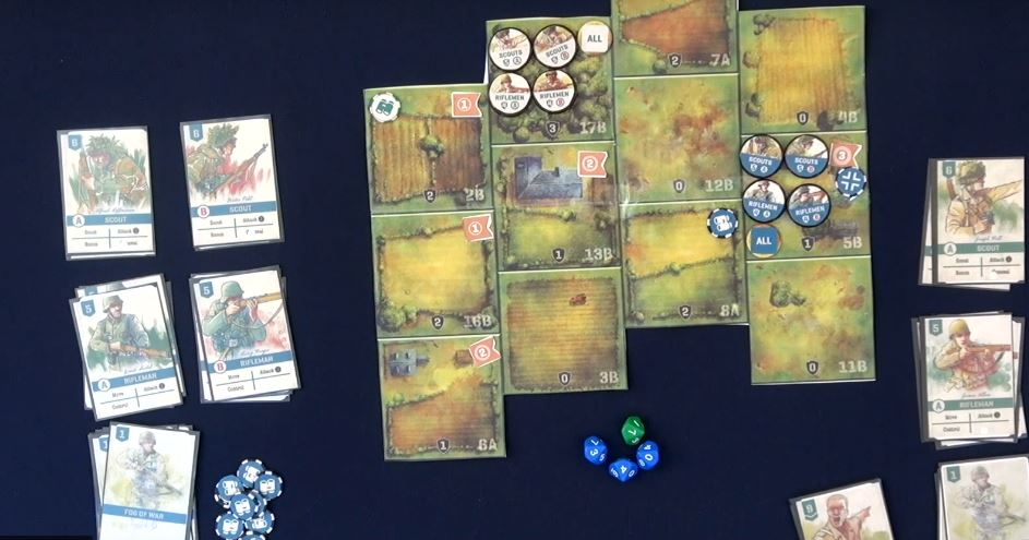 Undaunted: Normandy prototype components