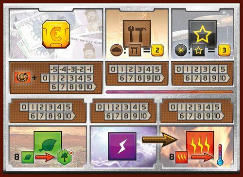 Terraforming Mars player mat