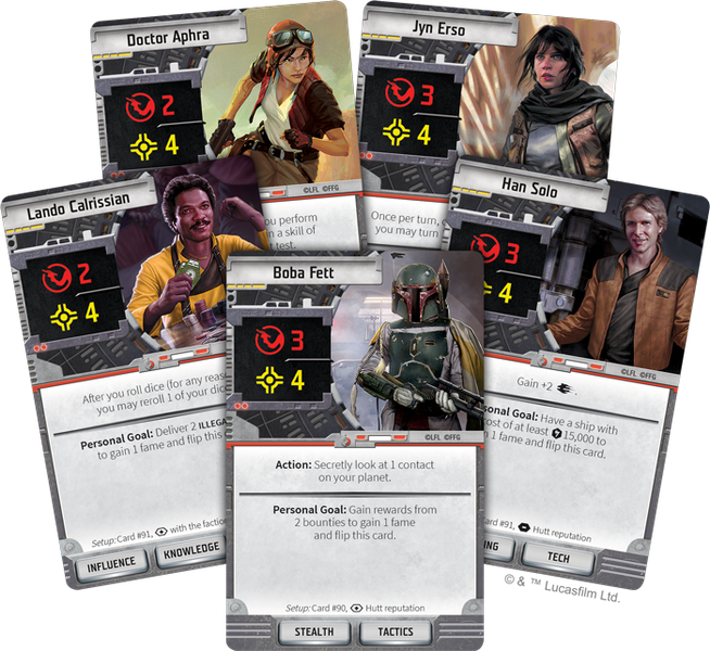 Star Wars: Outer Rim cards