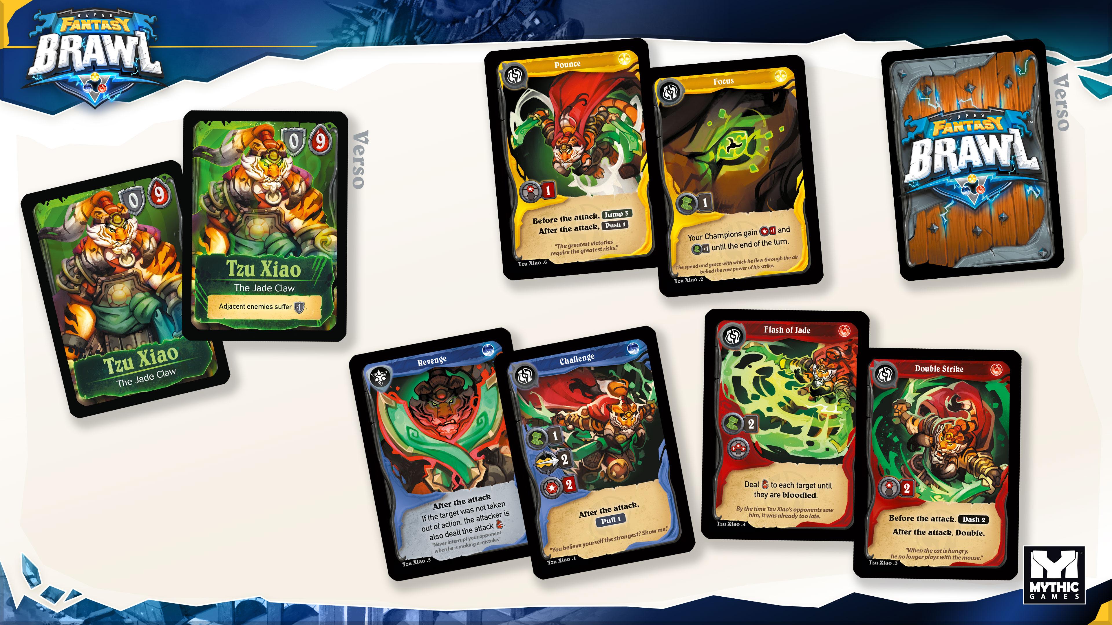 Super Fantasy Brawl cards