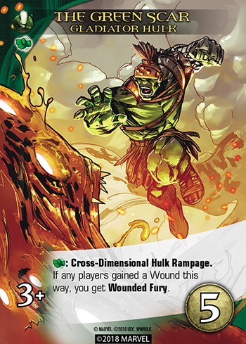 Hulk Wounded Fury