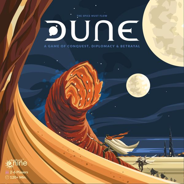 Dune the board game is being reprinted