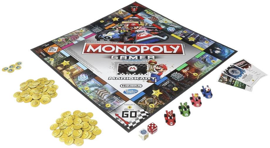 Monopoly Gamer: Mariokart components