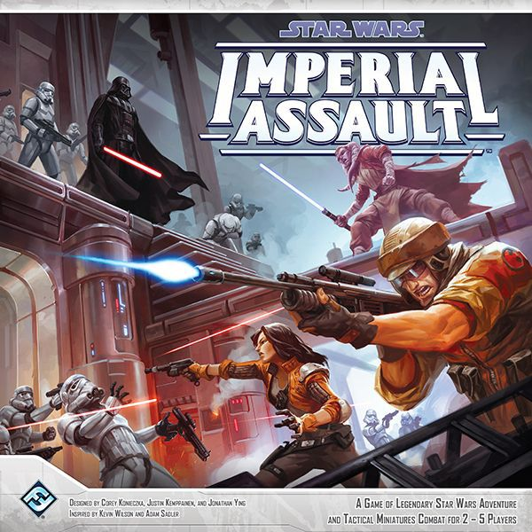 all vs one:  Star Wars: Imperial Assault (2014)
