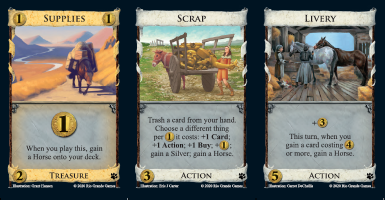 Dominion: Menagerie Horse cards