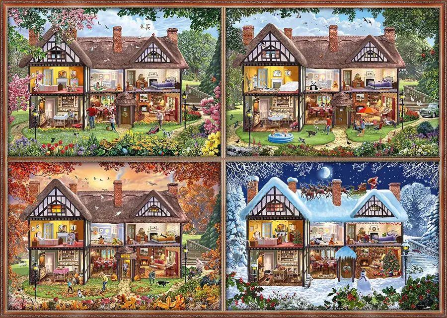Schmidt puzzle: Four seasons