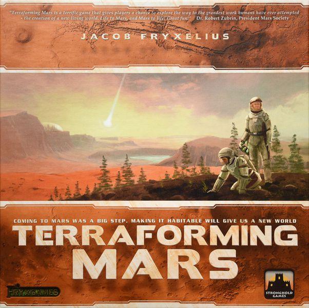 Terraforming Mars expansions