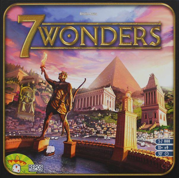 7 Wonders expansions