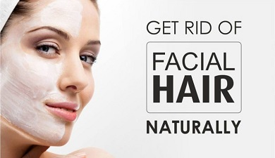 Get Rid of Female Facial Hair Naturally