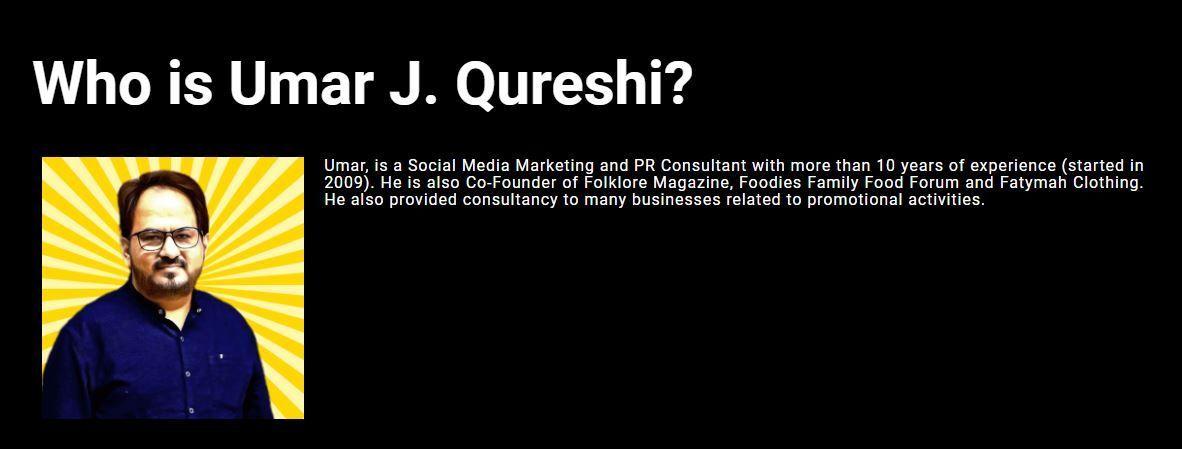 Umar J Qureshi