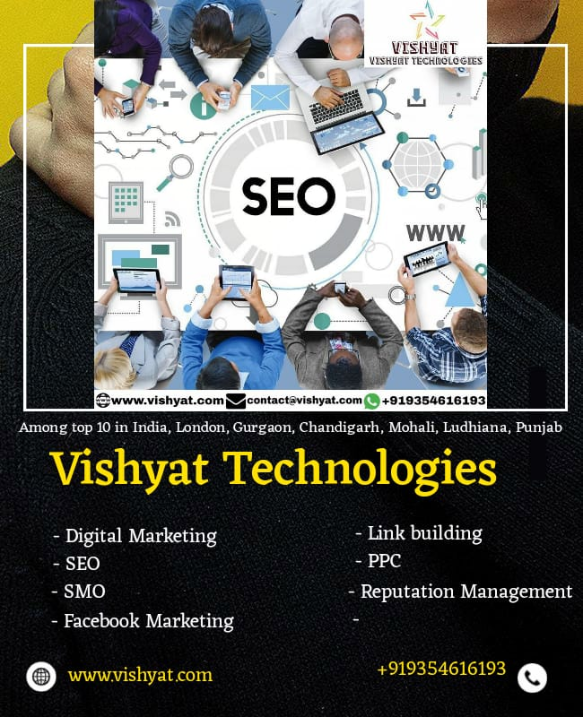 VISHYAT TECHNOLOGIES SEO INDIA