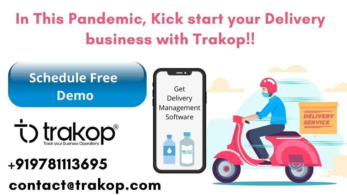 Trakop - Delivery Management Software