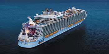 MS Harmony of the Seas largest curise in the world