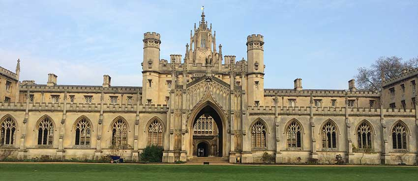University of Cambridge Top Universities in the world
