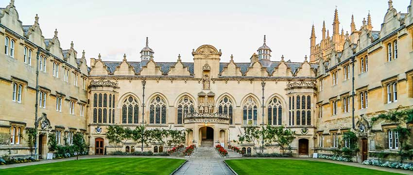 University of Oxford Top Universities in the world - top 6